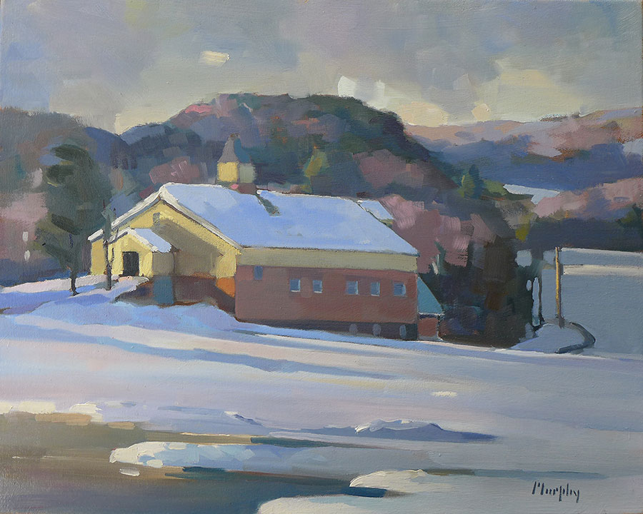 "Willie Gray's Barn    16"" x 20"", $1,200, SOLD"