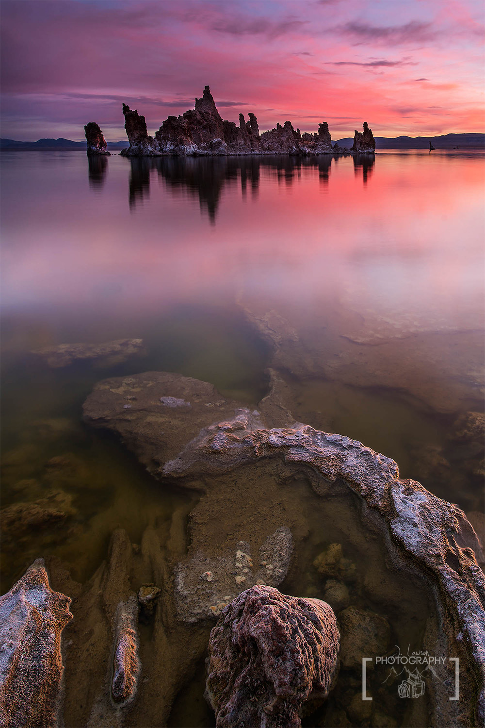Mono Lake Sunrise - use your tripod to change your perspective and get better pictures
