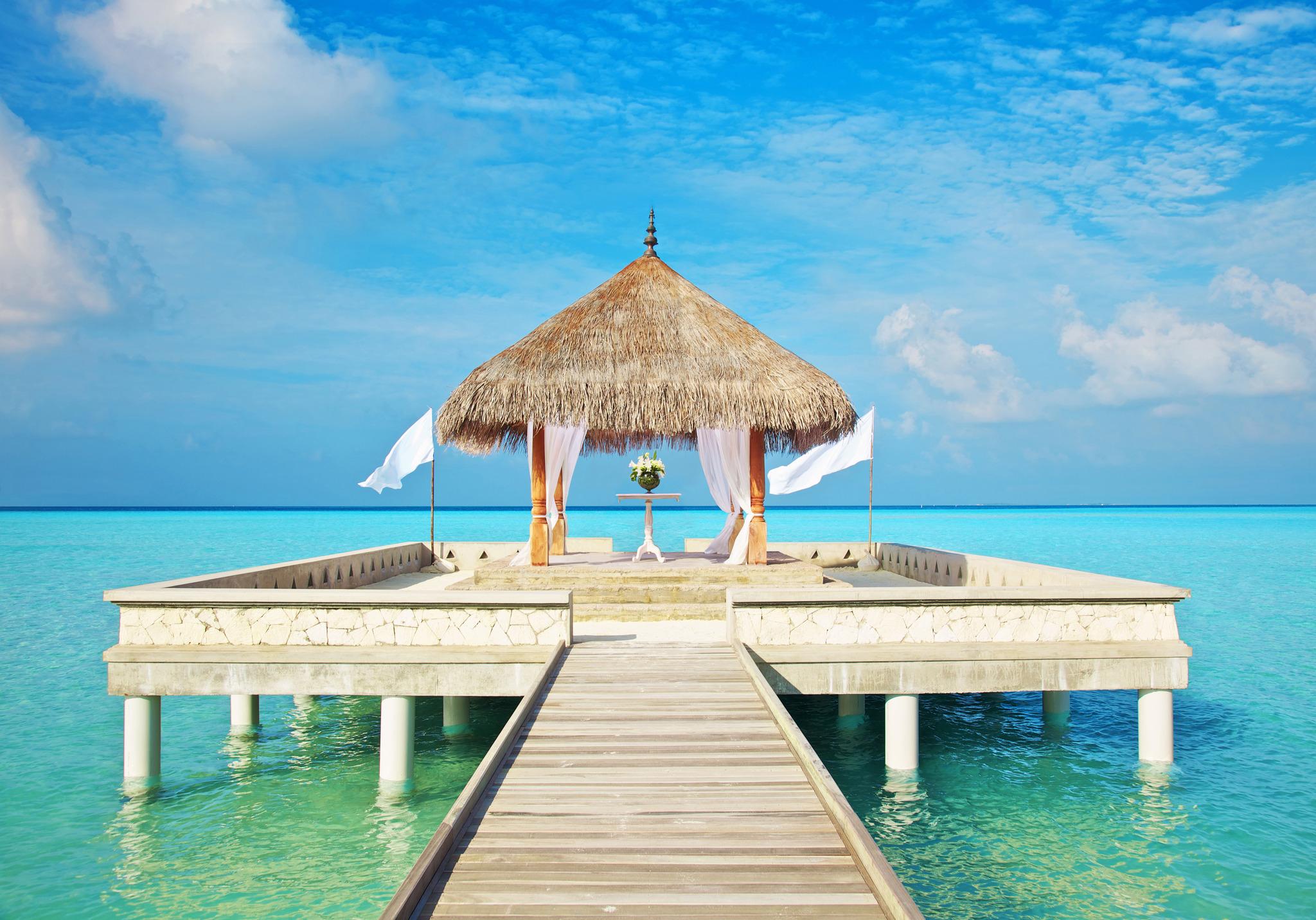 Maldives Wedding, Photo Credit:  Hotels in Heaven