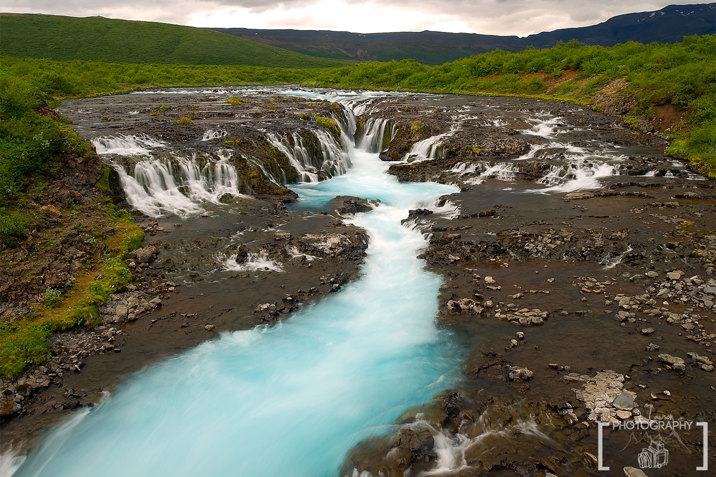 Bruarfoss, Iceland. Iceland Photography, Photo Credit: Jared Lawson