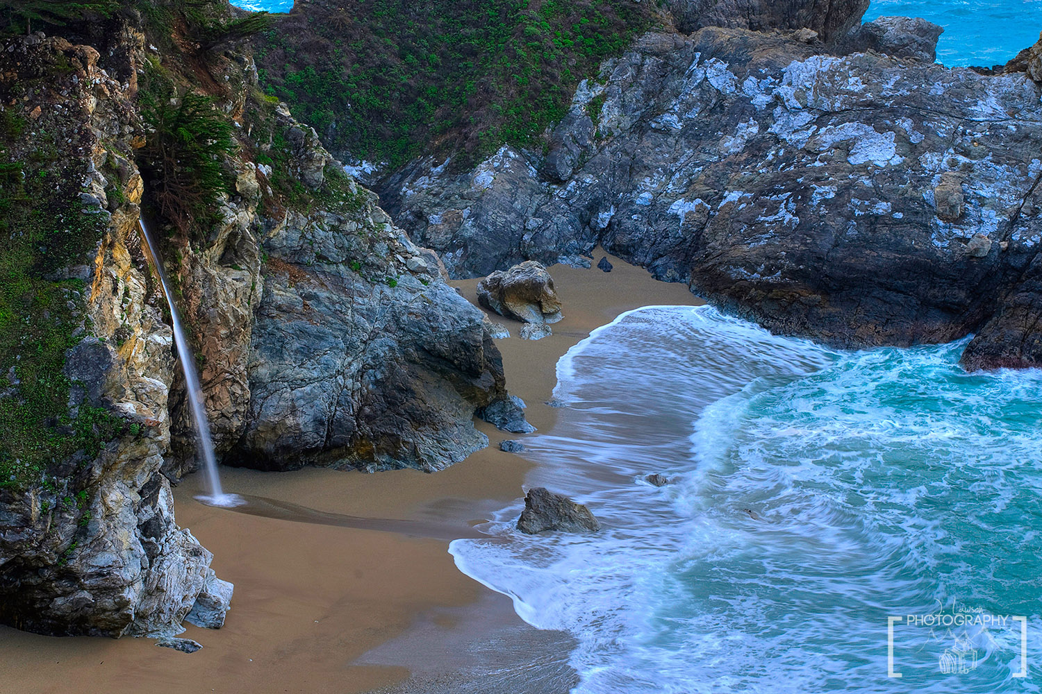 McWay Falls, Big Sur, California.  Photo Credit: Jared Lawson Photography