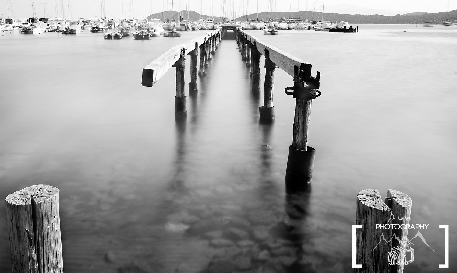 This pier in Italy was shot with a 20 second exposure using the Lee Big Stopper filter, picture by Jared Lawson Photography