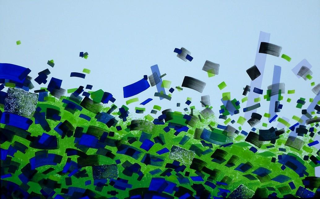 H-Jurgen Tarrasch, From the series The Spill, 2010-11, 50x80in, own tech.on canvas..JPG