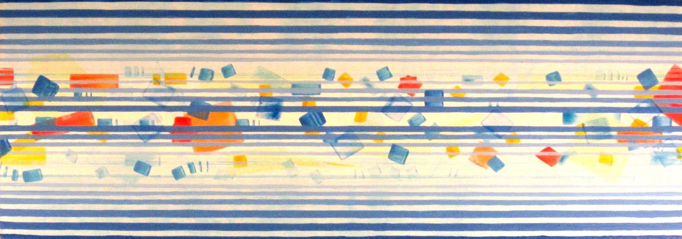 Jurgen Tarrasch, From the series Ethereal, 2008-09, mixed media, 30,5 x 86.JPG