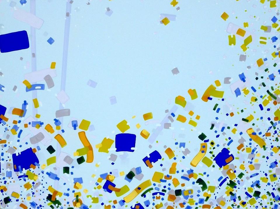 K-Jurgen Tarrasch, From the series Relieve, 2011, 36x48in, own tech. on canvas..JPG