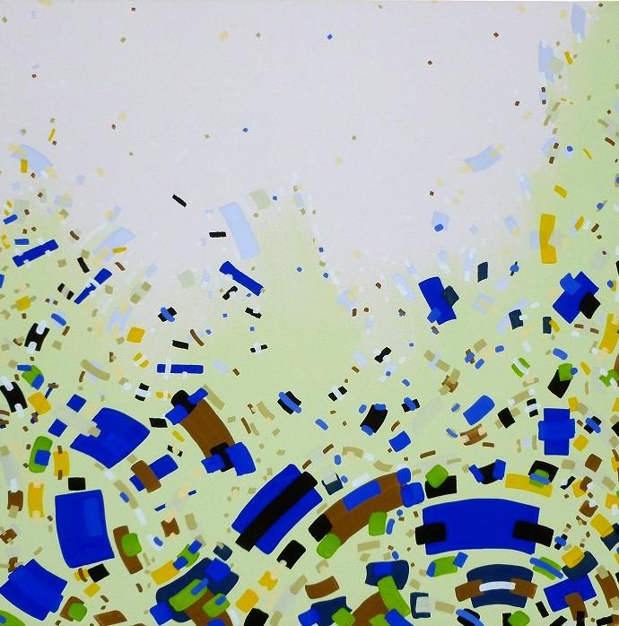 N-Jurgen Tarrasch, From the series Relieve,2011, 40x40in, own tech.on canvas..JPG