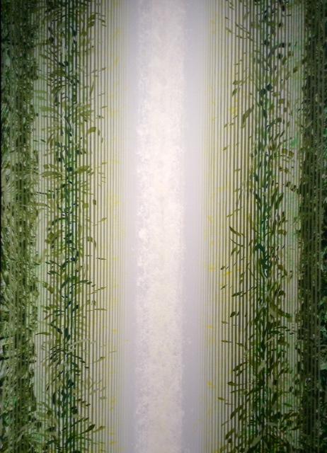 Jurgen Tarrasch, Vines, 2019, Acrylic on canvas, 70 x 50 inches..JPG