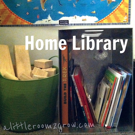 build your child's home library