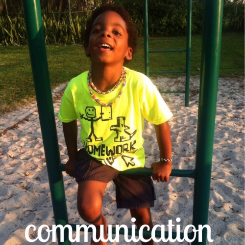 communication skills start at home