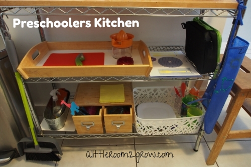 Montessori inspired kitchen