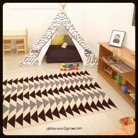 Montessori playroom for toddlers and preschoolers