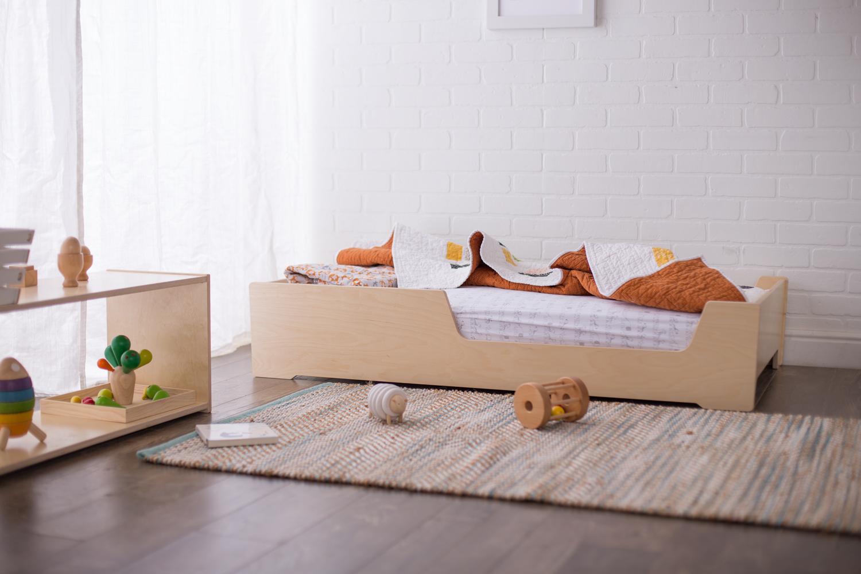 Floor Bed - Freedom for toddlers & preschoolers.