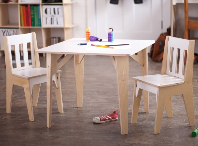 Table & Chair Set - This set can be used for eating, writing and crafting.