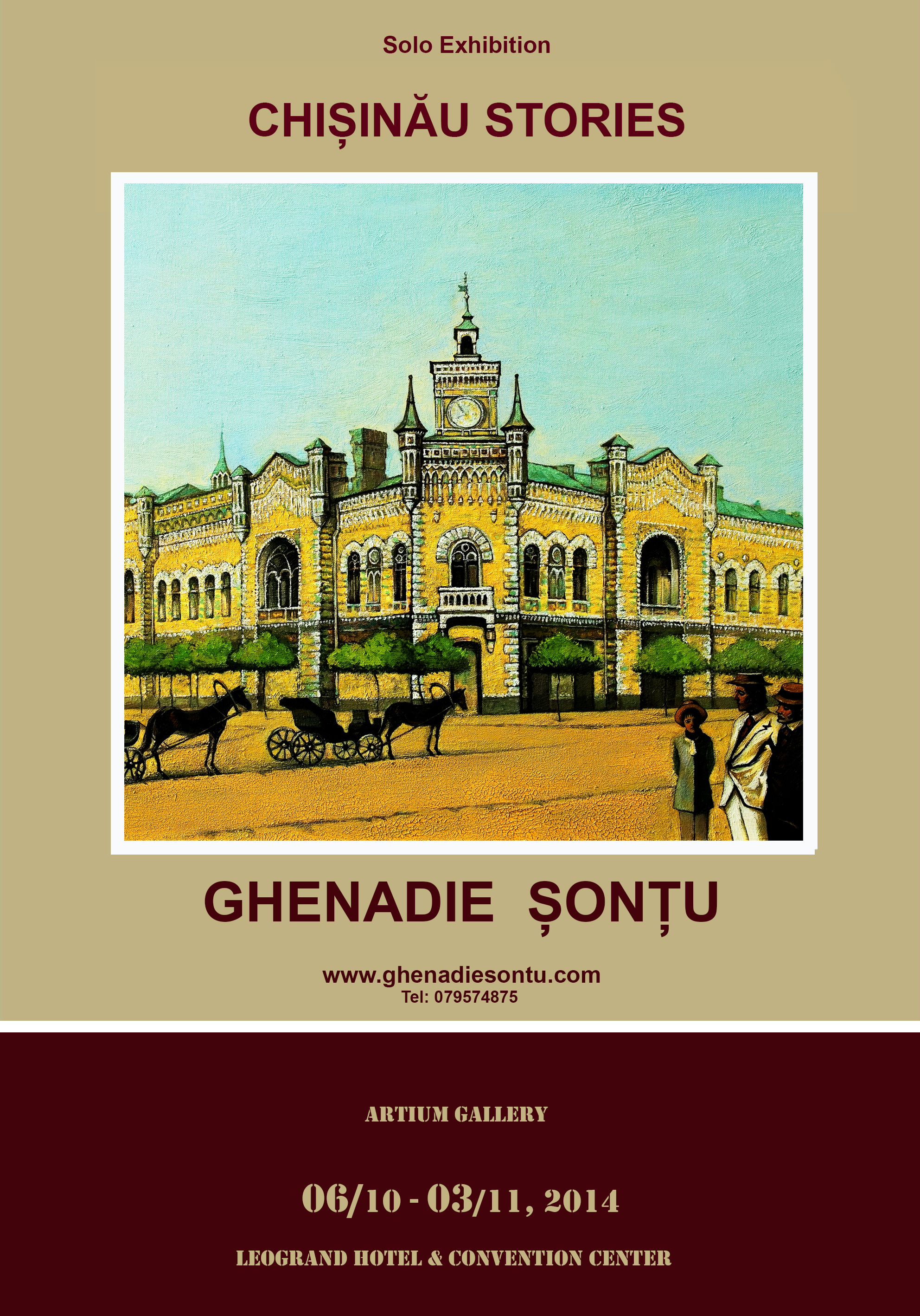 CHISINAU STORIES - Ghenadie Sontu Solo Exhibition at Artium Gallery Leogrand Convention Center Chisinau Moldova .jpg