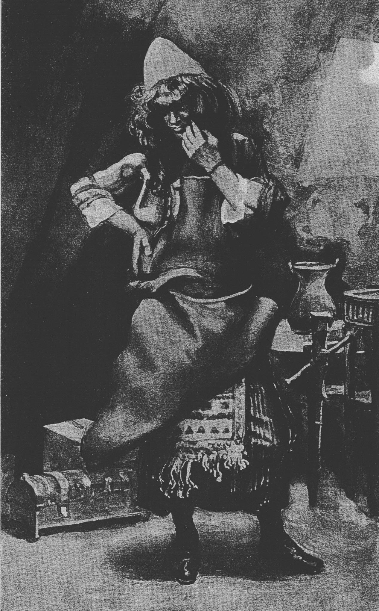 Portrait of Bezalel by James Tissot.