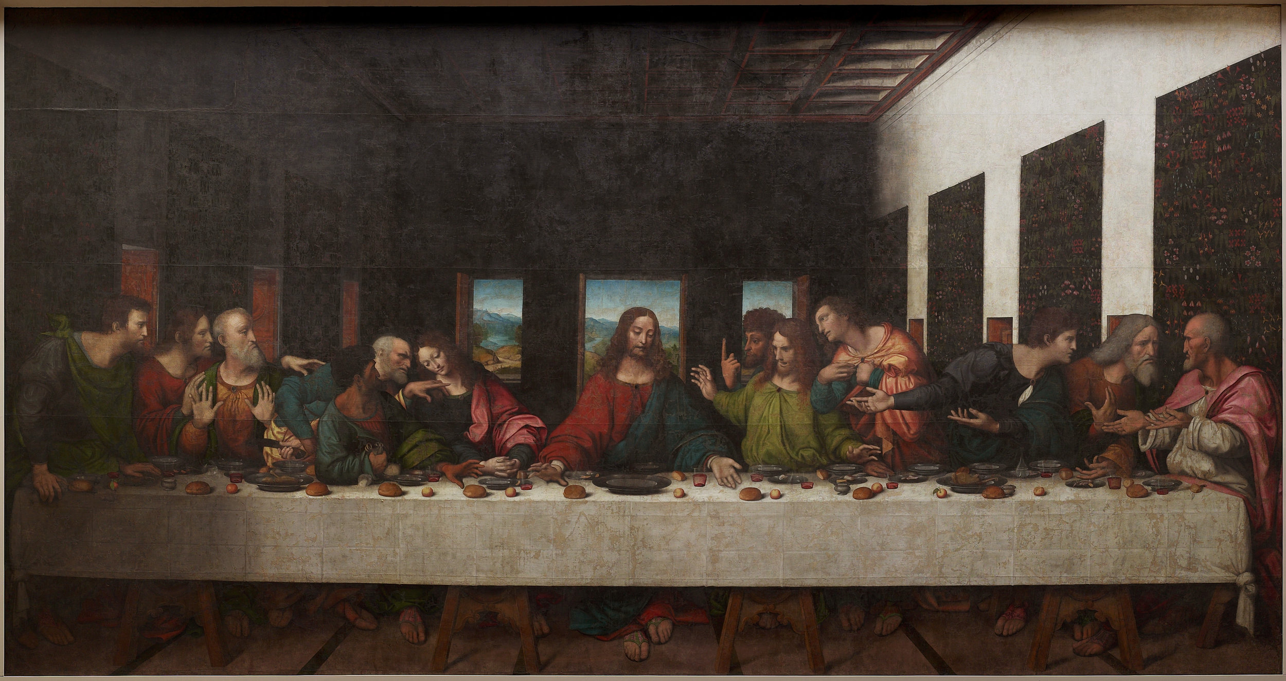 Leonardo da Vinci Made a Secret Copy of 'The Last Supper'.jpg