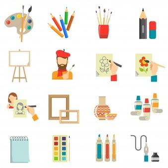 Техники: - Живопись: акварель, акрил, гуашь, маслоРисунок: графика, пастель, эстамп, монотипия