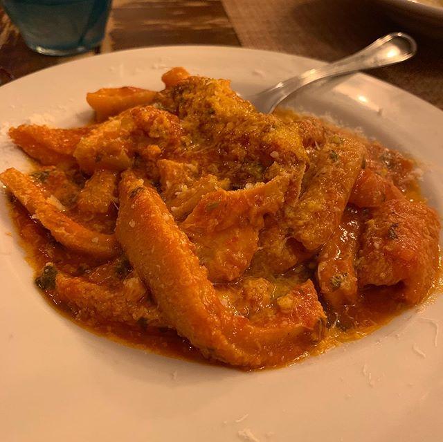 Trippa. Carbonara. Caccio e pepe. Pasta Fagiole.  Amazing birthday meal at @osteriadal1931. Thank you @anthonybourdain.