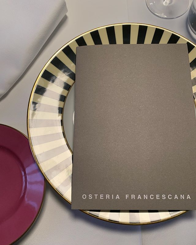 The Best Restaurant in the world.  #osteriafrancescana  #loveandmiseenplace  #mytop3