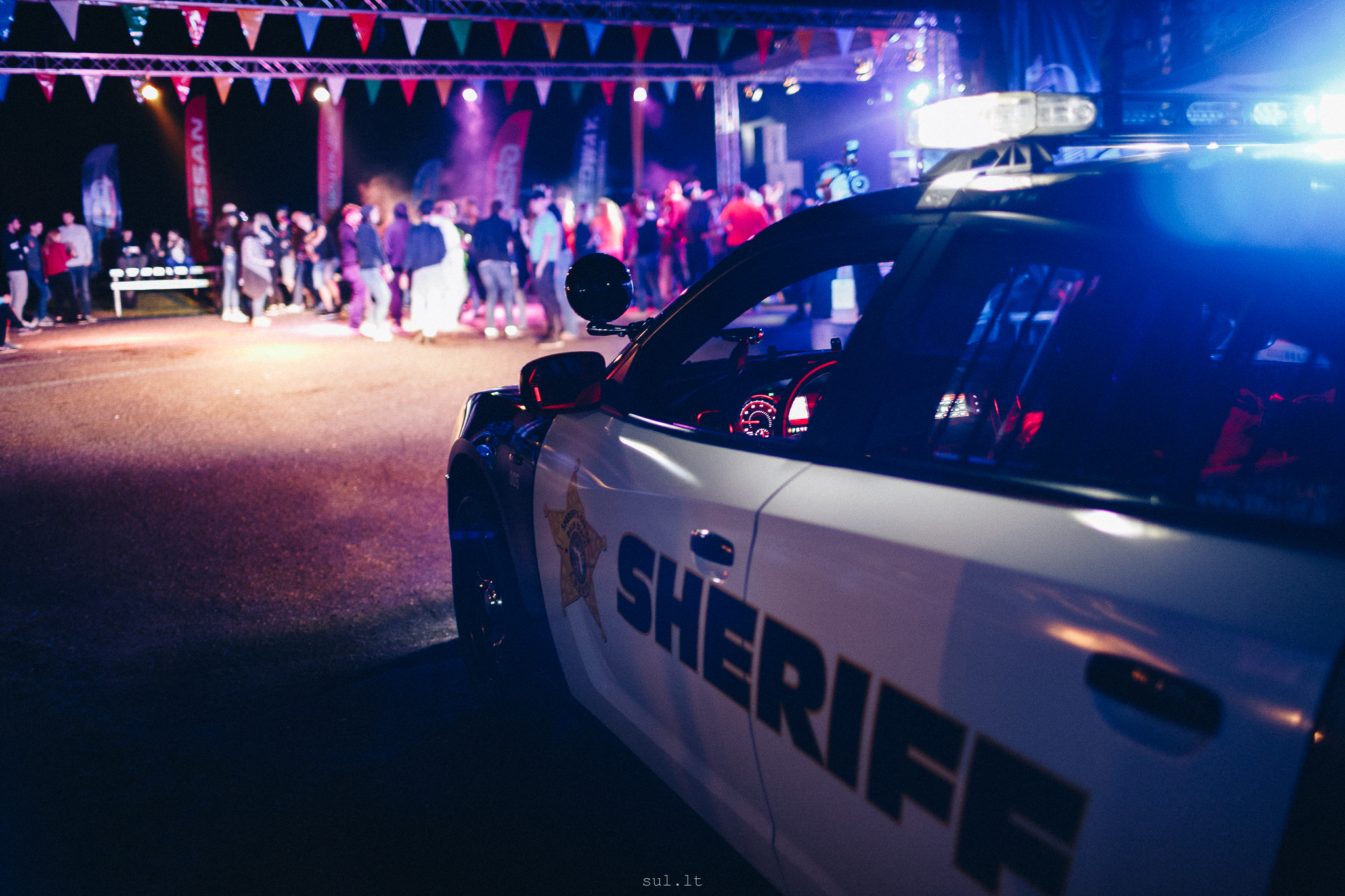 Sheriff comes to party