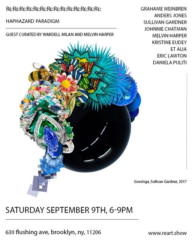 et . alia is very excited to be apart of this show curated by @wardellmilanstudio and @melvins.world !! Opening Sat Sept. 9th!!