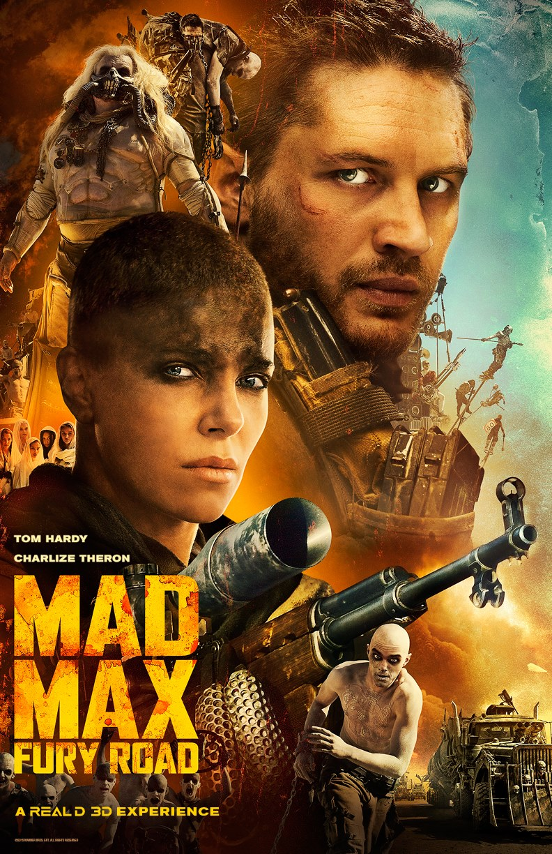 Mad Max movie one sheet.