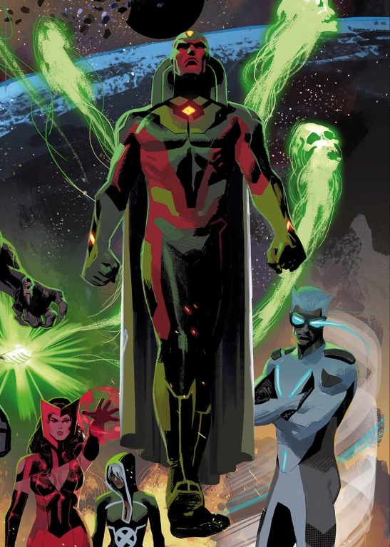 The Vision: Victor Shade from Marvel Comics