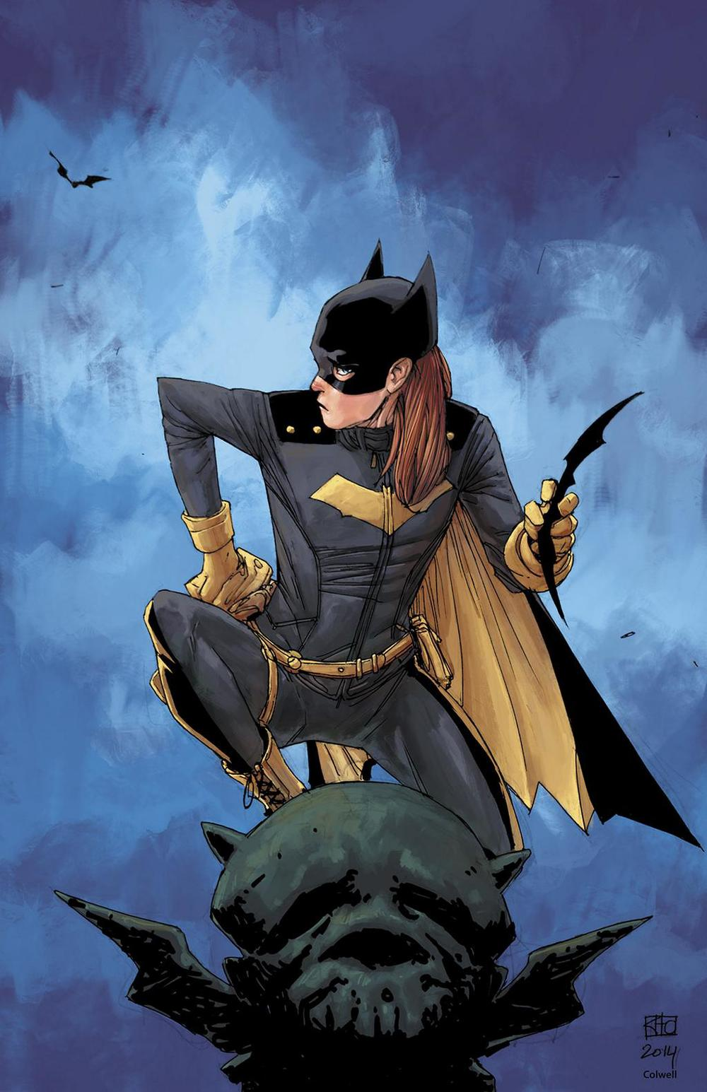 Bat-Girl collaboration between Ten Ton Officers Khoi Pham and Jeremy Colwell