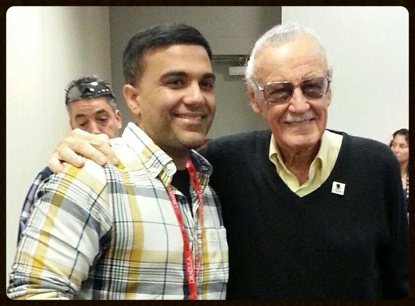 Sajad Shah & Stan Lee