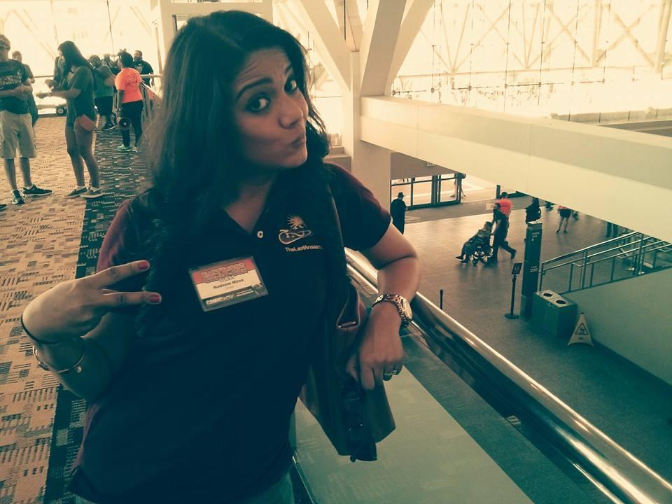Sarah Syed representing for #TeamZindan