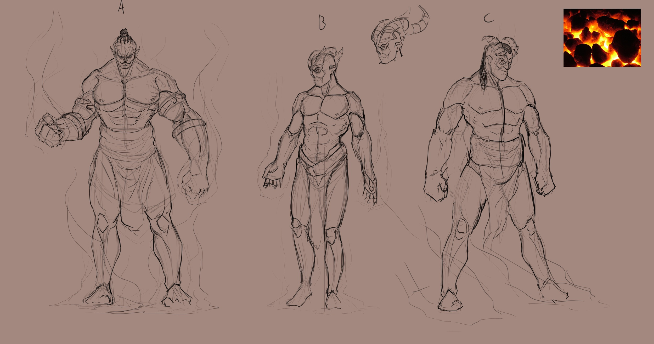 Some various Jinn designs