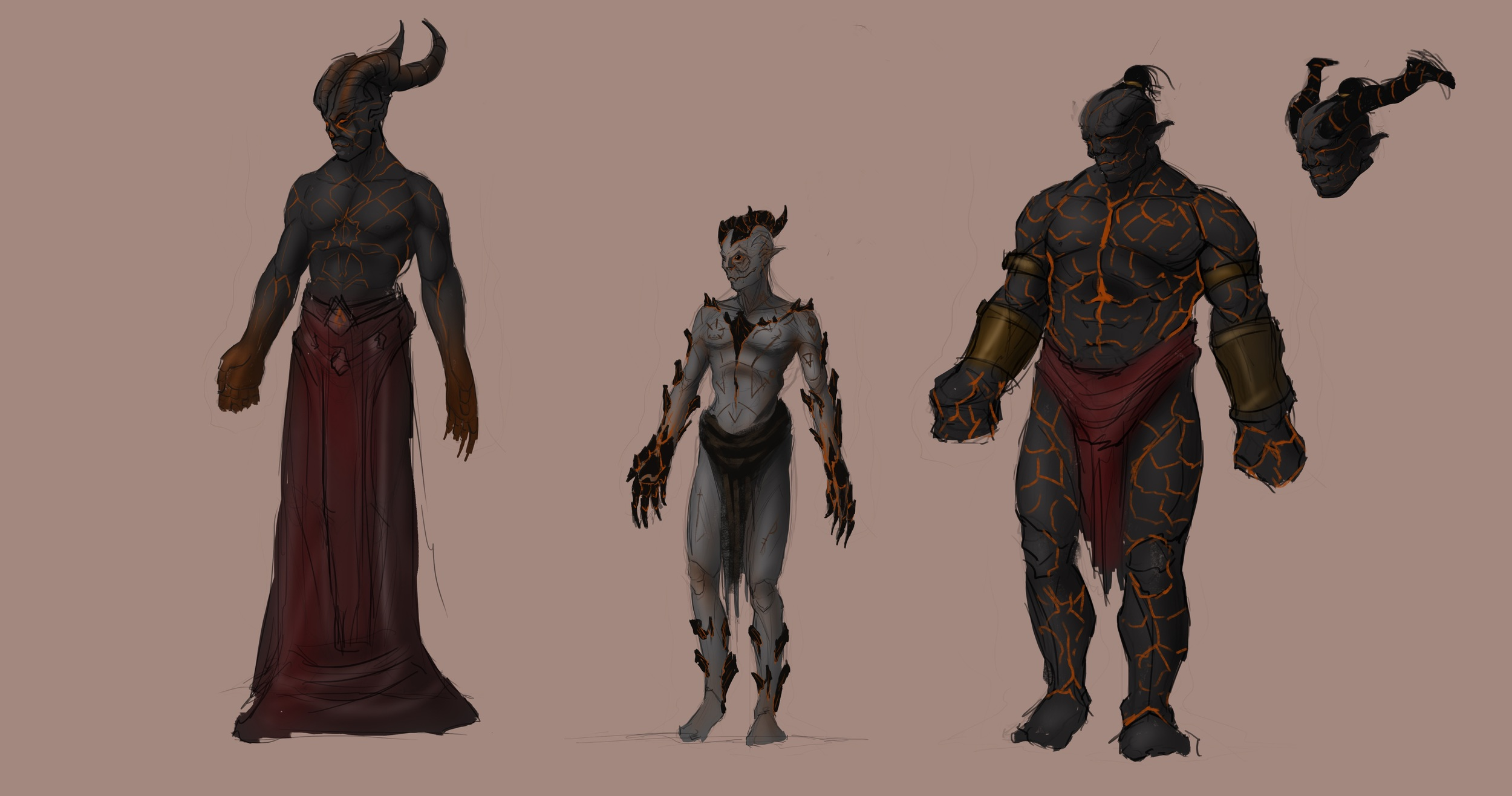 Some more Jinn designs