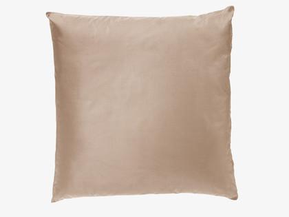 Habitat 'Jules' Old Gold silk cushion, £25