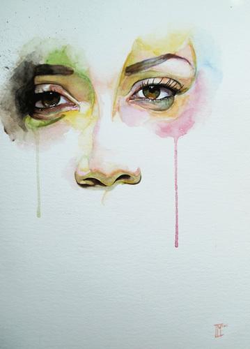 'Those Eyes' art print by Innes Mcdougall, £59.95 (for a 110 x 82cm print)