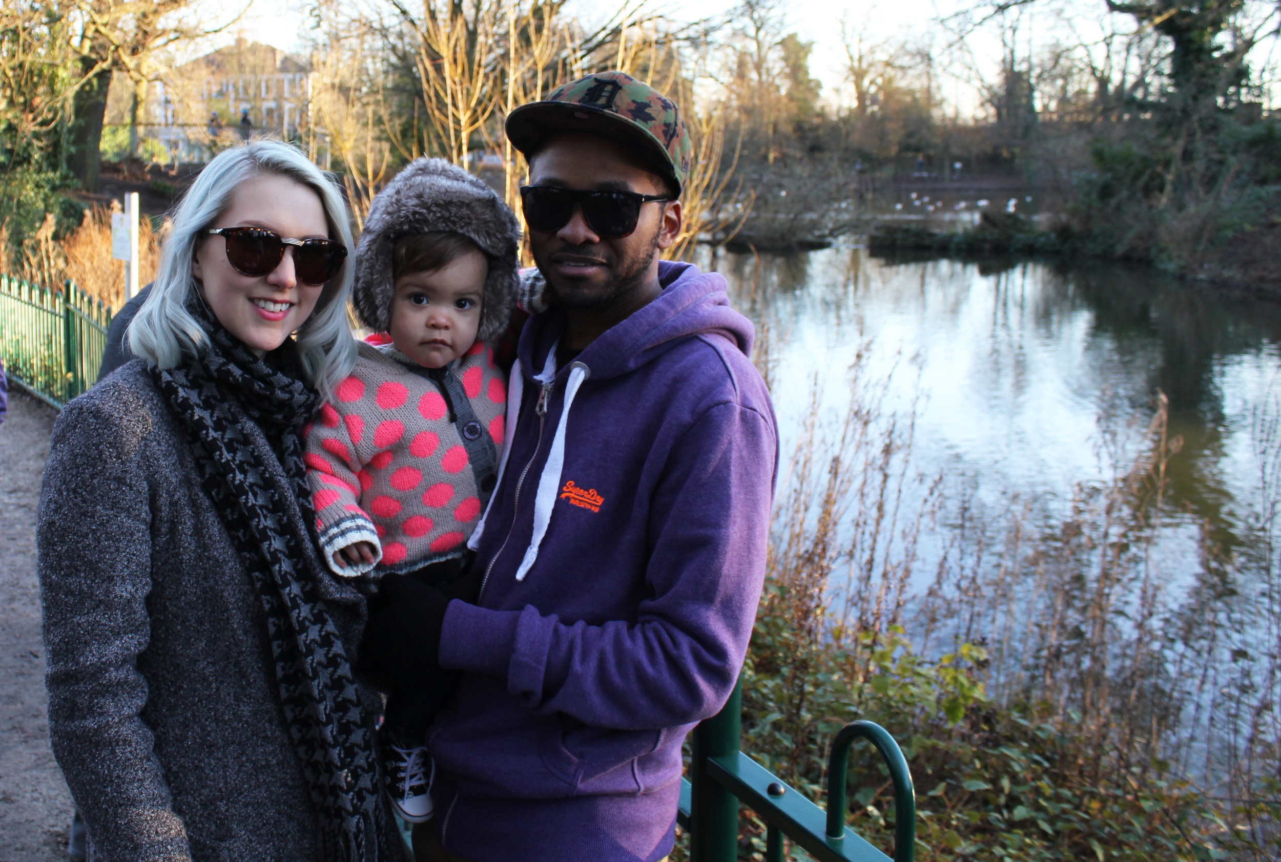 Family day in the grounds of the original Crystal Palace