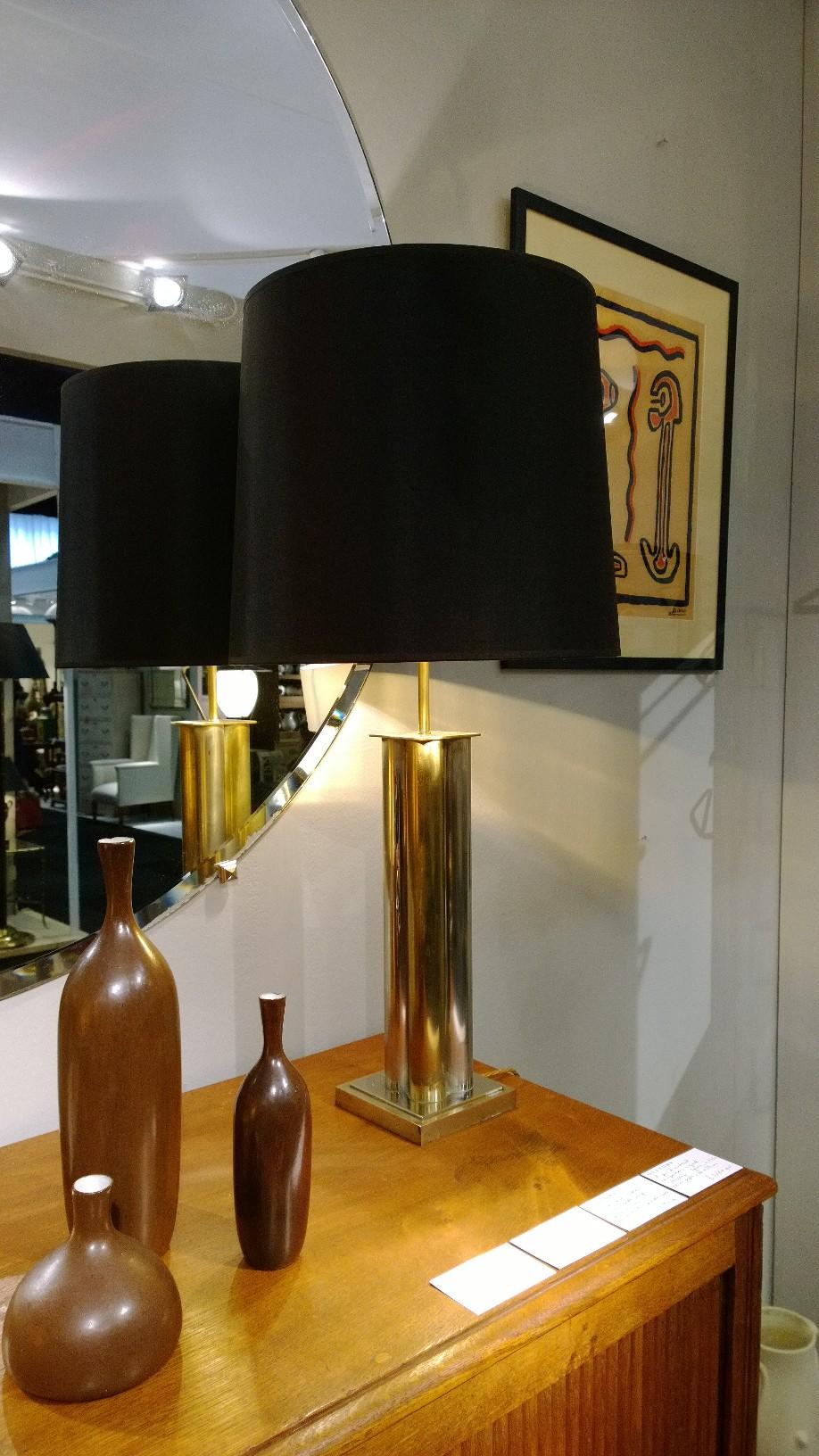 20th Century Italian brass lamp