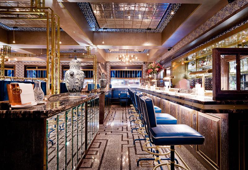 Soho restaurant Bob Bob Ricard