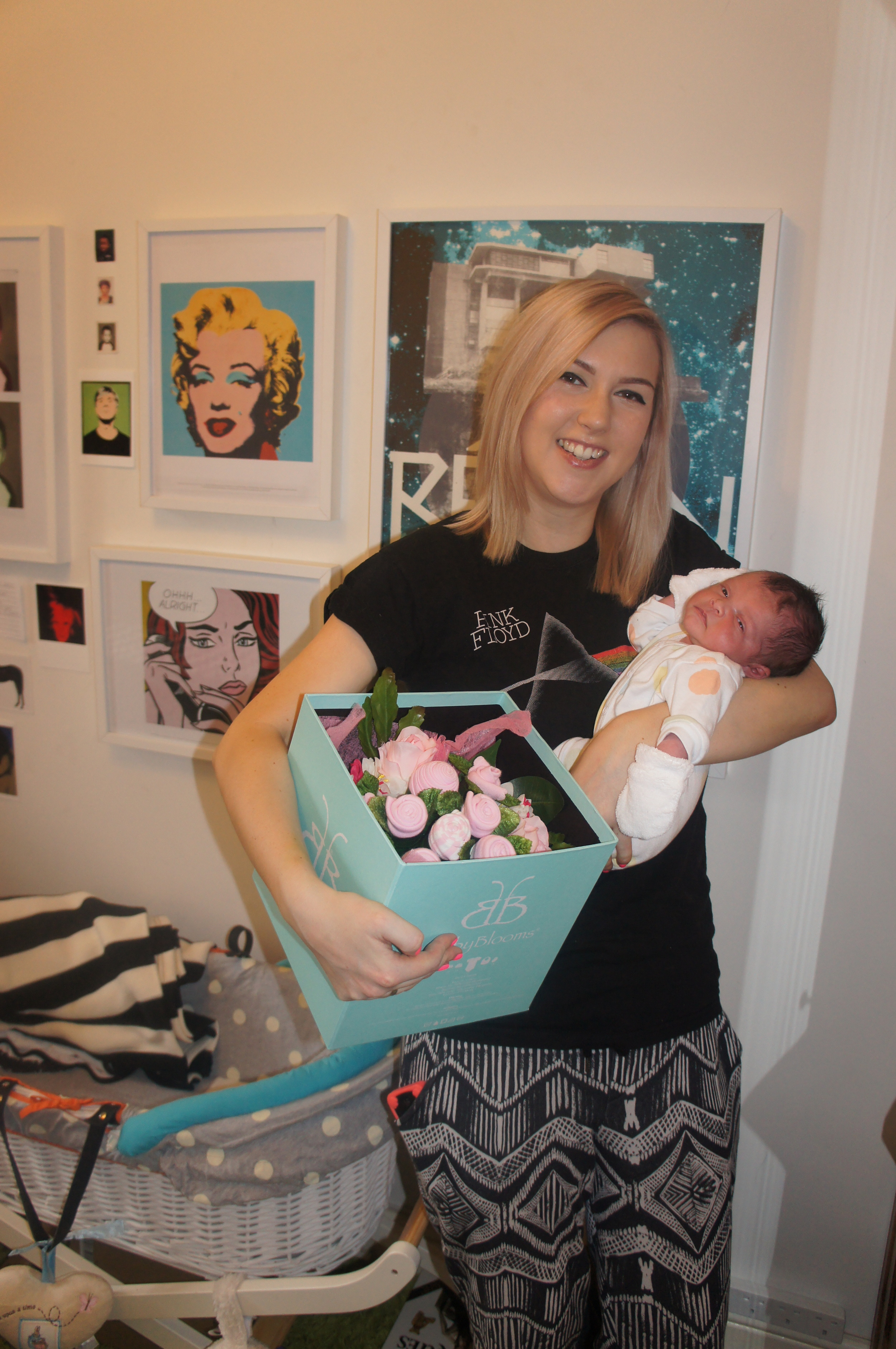 Me and baby marley in our room / living room / baby room / office for just over 2 years