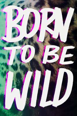 This print is a bit graffitti, a bit 80s. Lovely. Born To Be Wild print, Leah Flores at East End Prints, from £25