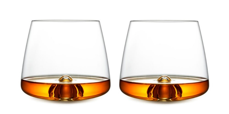 To me whiskey tastes like fermented wood water but it seems those of the gentlemanly type like it. These whiskey glasses look pretty slick. Normann Copenhagen set of 2 Whiskey Glasses,  £32