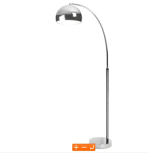 Fresh Chrome Complete lamp, £49.98