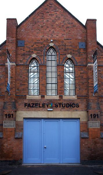 blue barn door fazeley studios