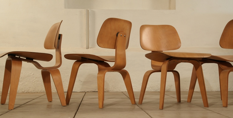 Eames DCW chairs