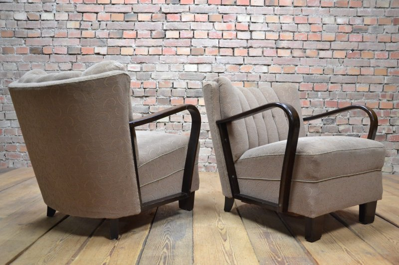 Art deco vintage armchairs ebay