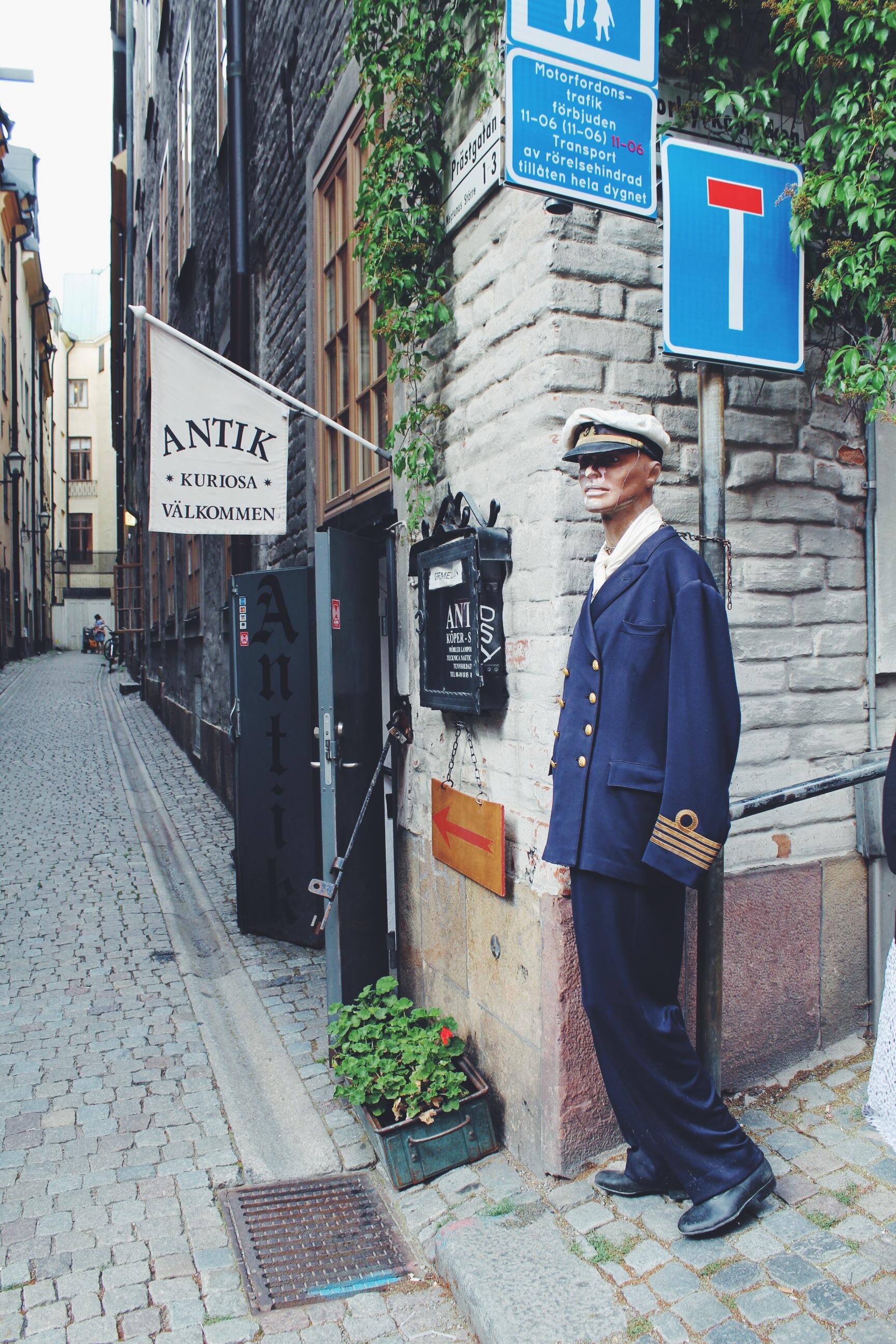 antique shops stockholm