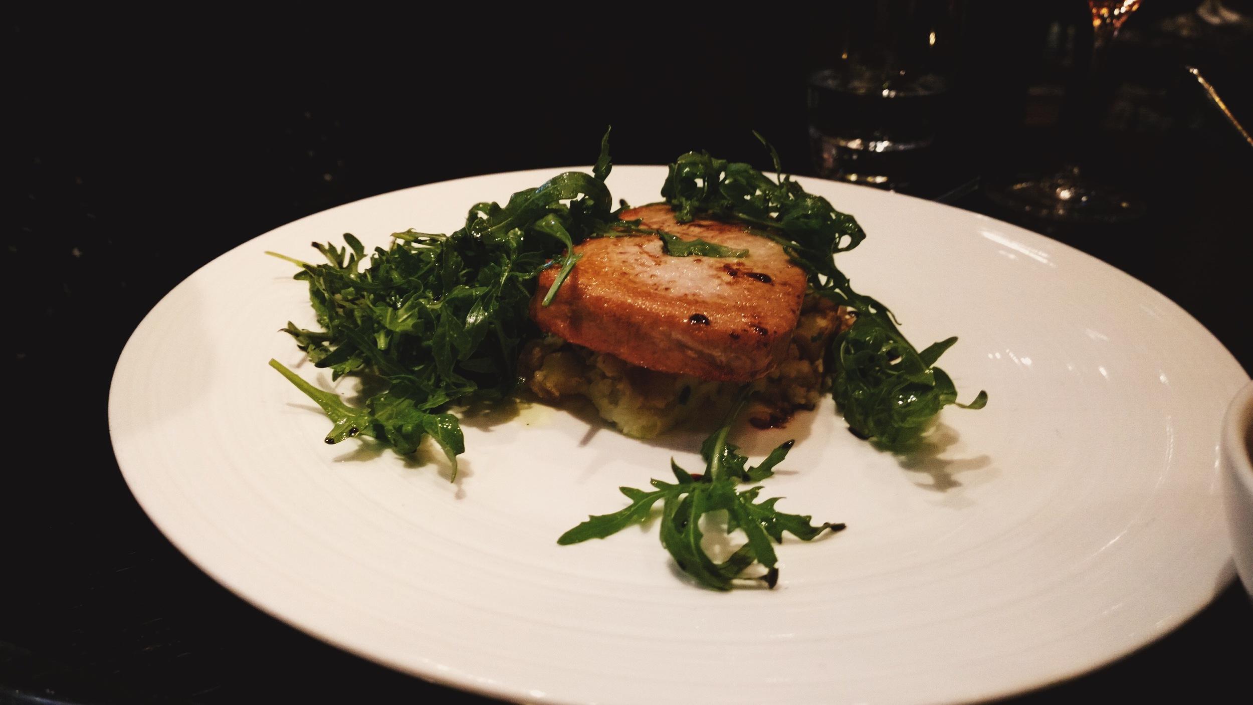 tuna steak london