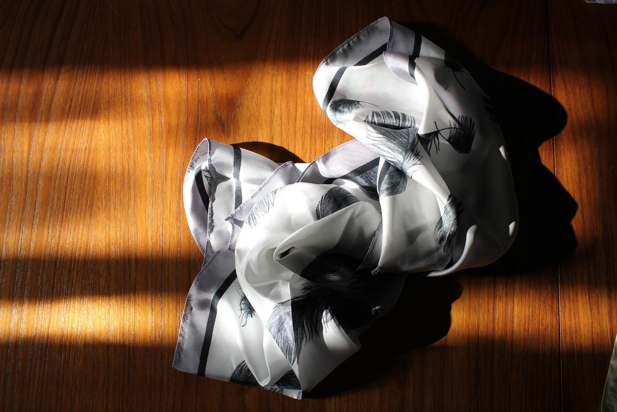 reiss silk scarf amara blog awards