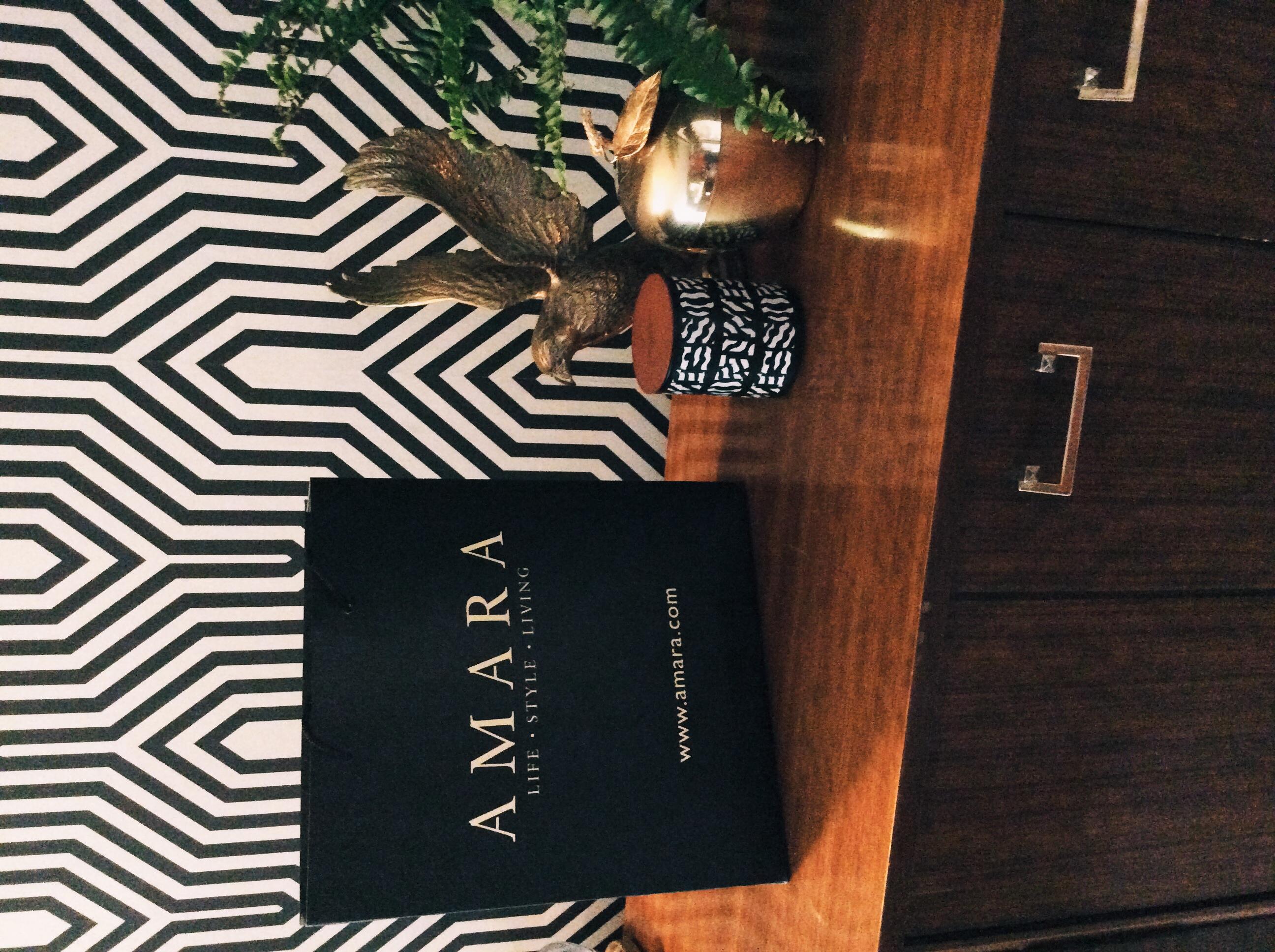 amara interior blogging awards winners goodie bag