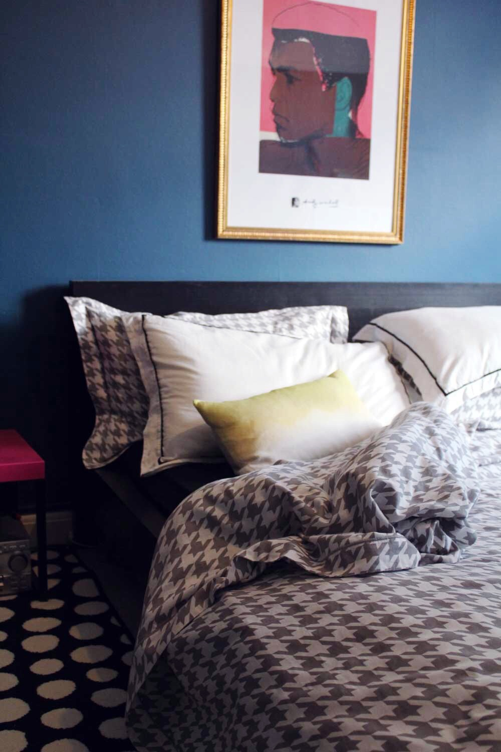 ombre cushion bluebell gray