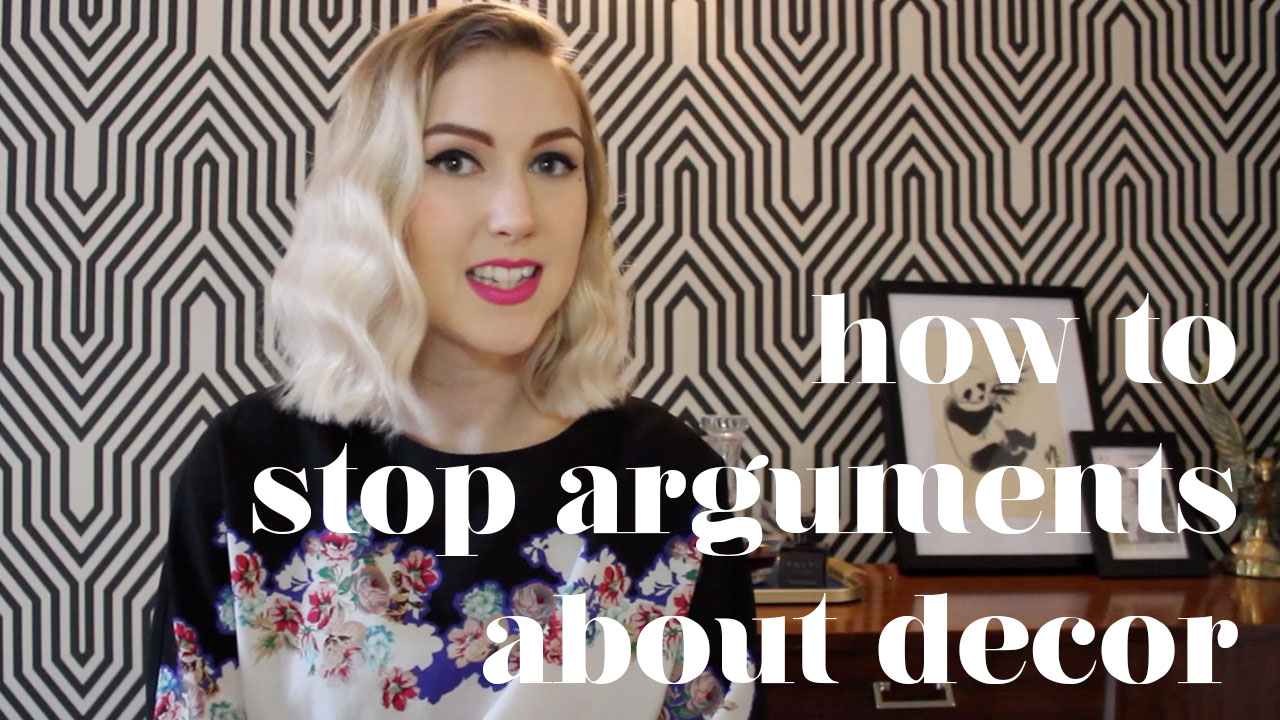 how to stop arguments about decor